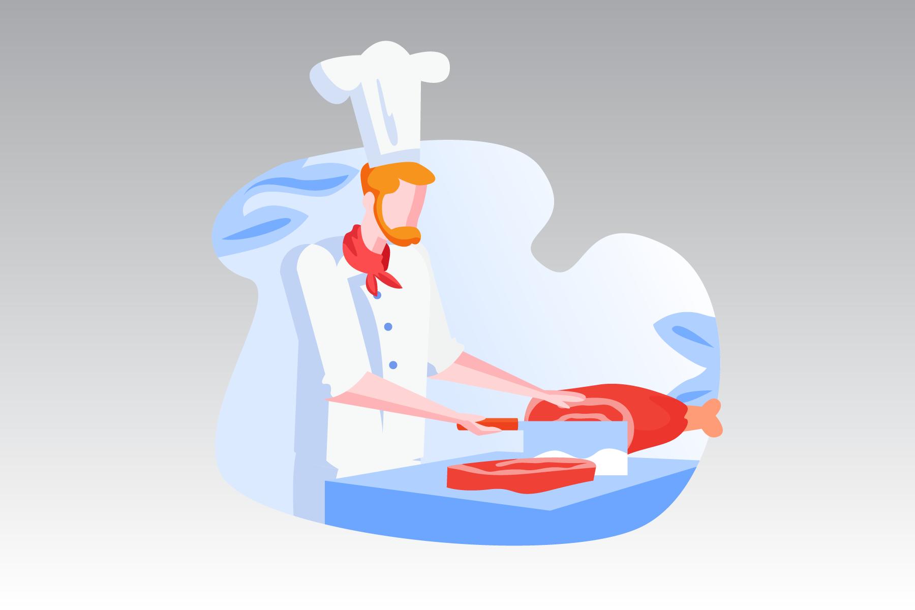 restaurant ideas blog banner chef