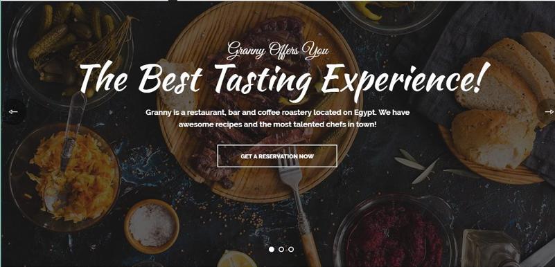 restaurant-website-typography