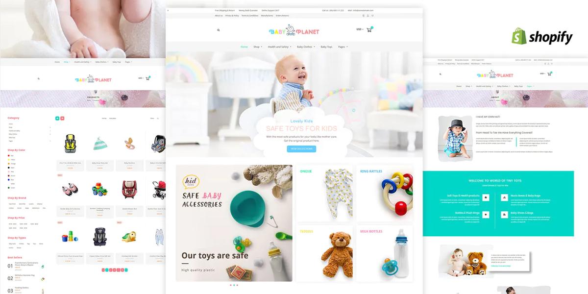 shopify website design example